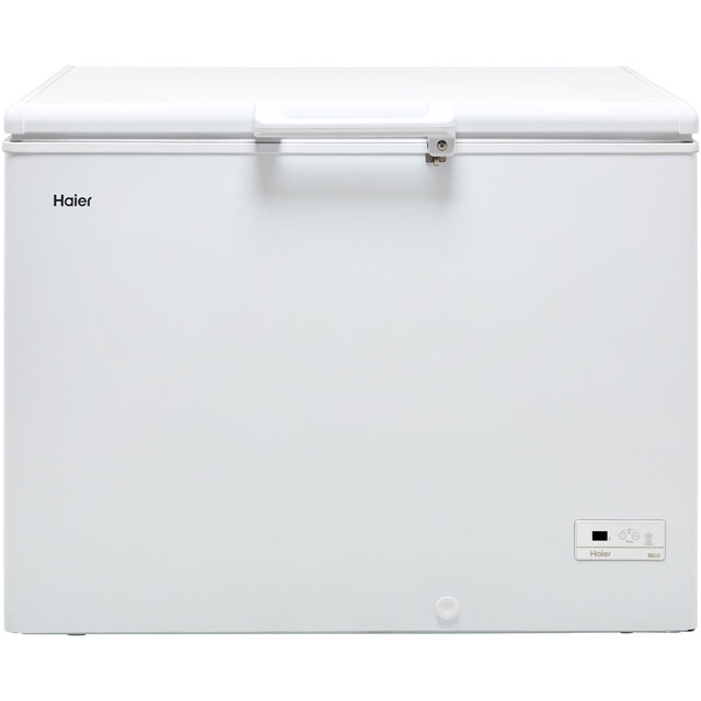 Haier HCE319R Chest Freezer - White - A+ Rated - HCE319R_WH - 1