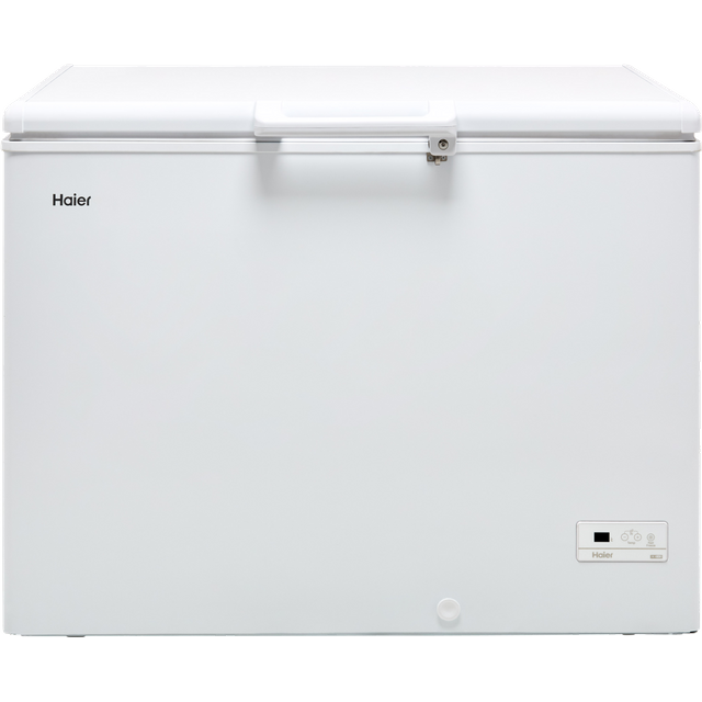 Haier HCE319R Chest Freezer - White - HCE319R_WH - 1