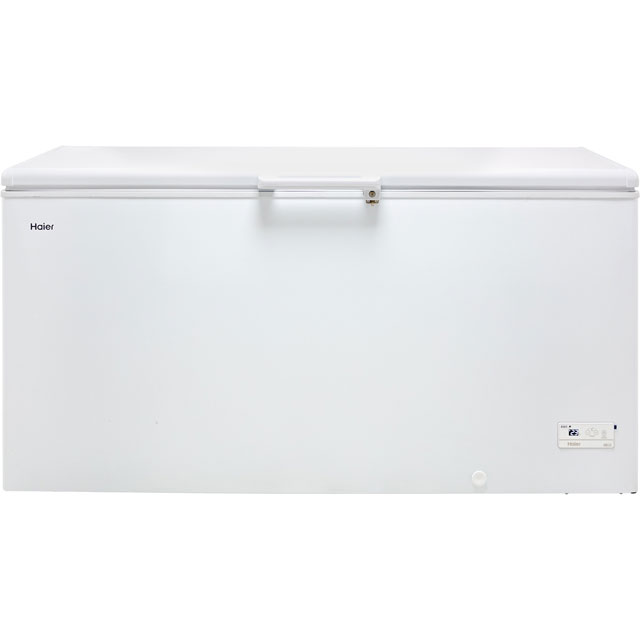 Haier HCE519R Chest Freezer - White - A+ Rated Best Price, Cheapest Prices