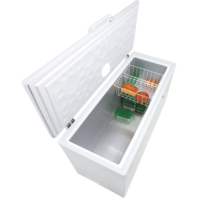 Haier HCE519R Chest Freezer - White - HCE519R_WH - 5