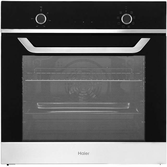 Haier HOX-E8CN4X Built In Electric Single Oven - Stainless Steel - A Rated - HOX-E8CN4X_SS - 1