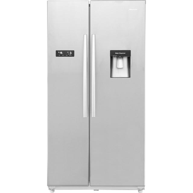 haier hrf450ds6 american fridge freezer silver