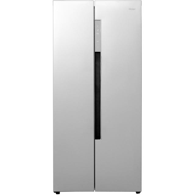 Haier HRF-450DS6 American Fridge Freezer - Silver - A+ Rated Best Price, Cheapest Prices