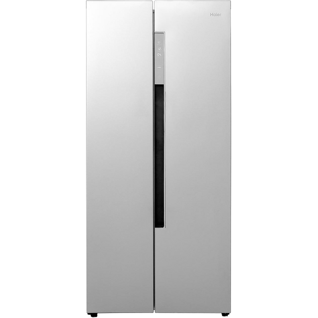 Haier HRF-450DS6 American Fridge Freezer - Silver - F Rated