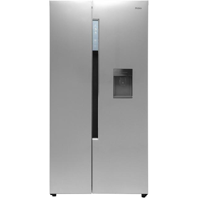 Haier HRF-522WS6 American Fridge Freezer - Silver - A+ Rated