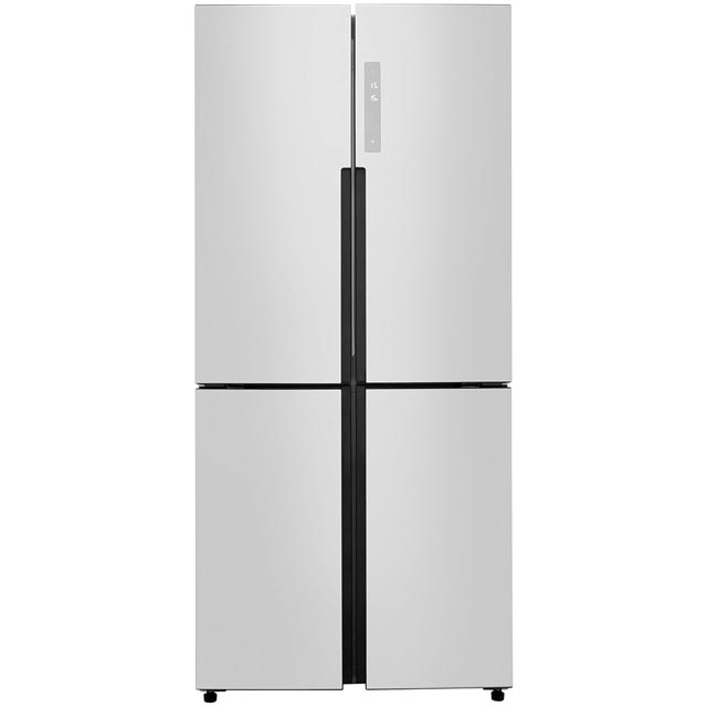 Haier HTF-456DM6 American Fridge Freezer - Stainless Steel - A+ Rated