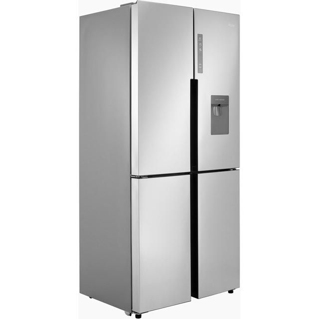 Haier HTF-456WM6 American Fridge Freezer - Stainless Steel Effect - A+ Rated