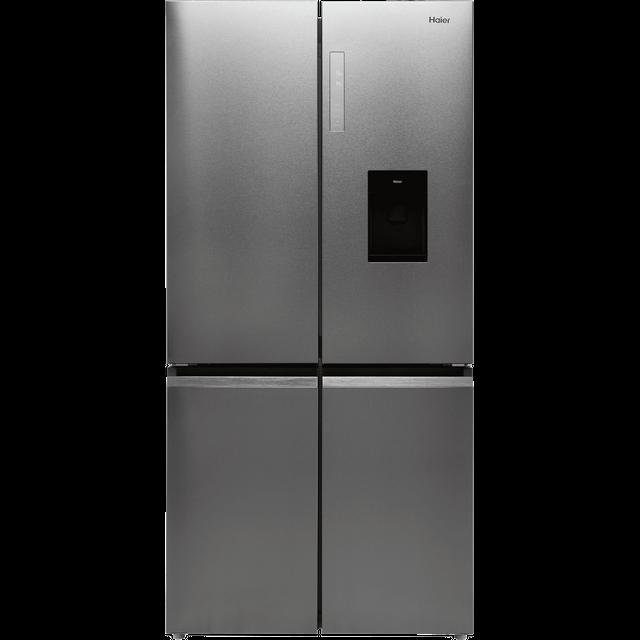 Haier HTF-520WP7 American Fridge Freezer - Platinum - F Rated