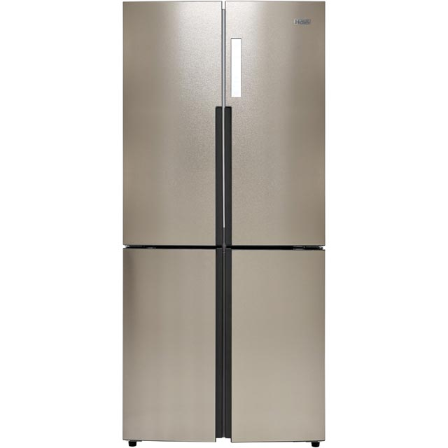 Haier HTF-556DP6 American Fridge Freezer - Silver - HTF-556DP6_SI - 1