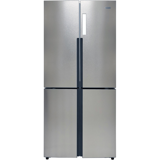 Haier HTF-556DP6 American Fridge Freezer - Silver - A+ Rated - HTF-556DP6_SI - 1