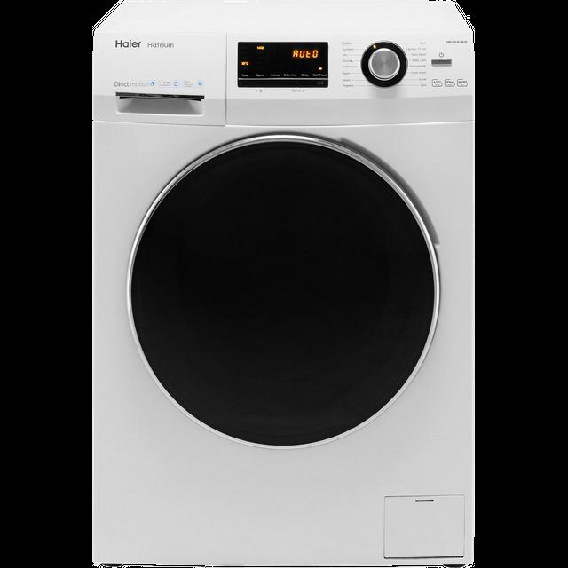 Haier Hatrium HW100-B14636 10Kg Washing Machine with 1400 rpm - White - A+++ Rated