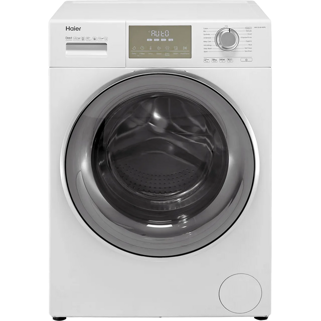 Haier HW120-B14876 12Kg Washing Machine - White - HW120-B14876_WH - 1