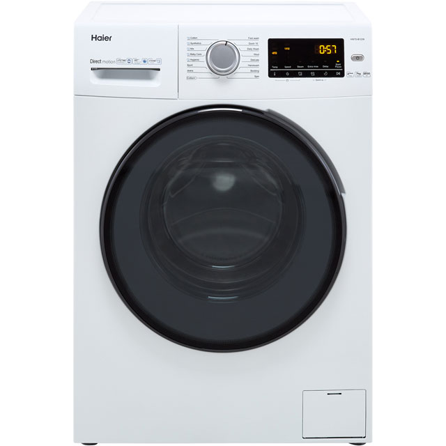 Haier HW70-B1239 7Kg Washing Machine with 1200 rpm - White - A+++ Rated - HW70-B1239_WH - 1