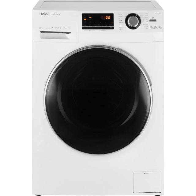 Haier Hatrium HW70-B12636 7Kg Washing Machine with 1200 rpm - White - A+++ Rated - HW70-B12636_WH - 1