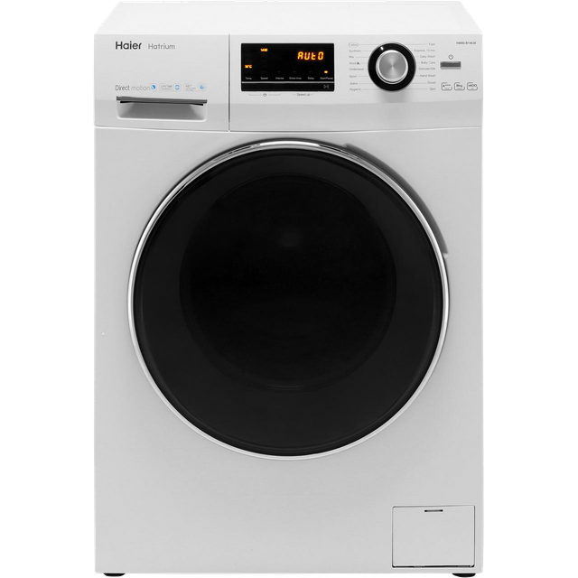 Haier Hatrium HW80-B14636 8Kg Washing Machine - White - HW80-B14636_WH - 1