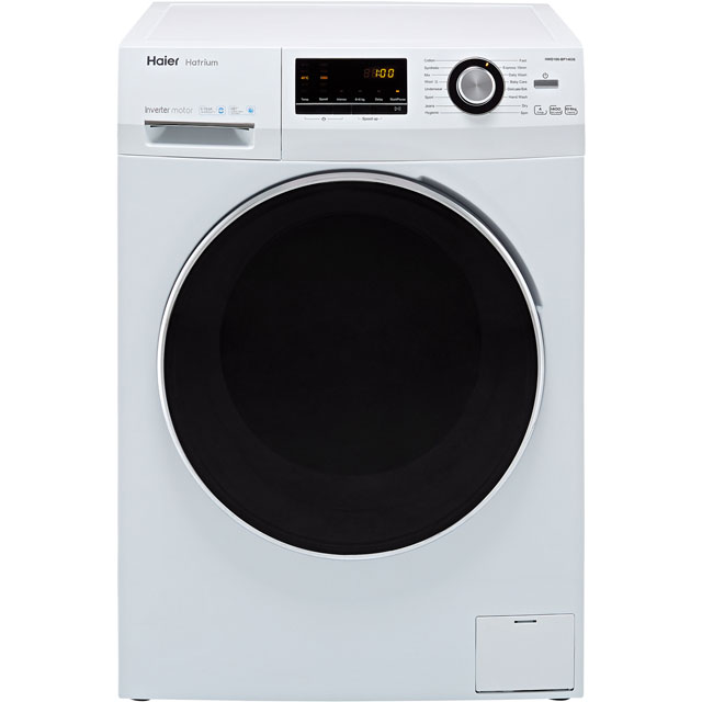 Haier HWD100-BP14636 10Kg / 6Kg Washer Dryer with 1400 rpm - White - A Rated - HWD100-BP14636_WH - 1