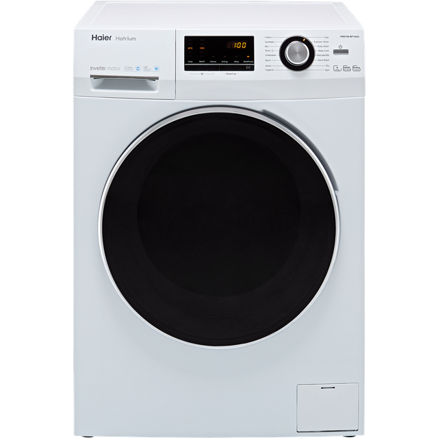 Haier HWD100-BP14636 10Kg / 6Kg Washer Dryer with 1400 rpm - White - HWD100-BP14636_WH - 1