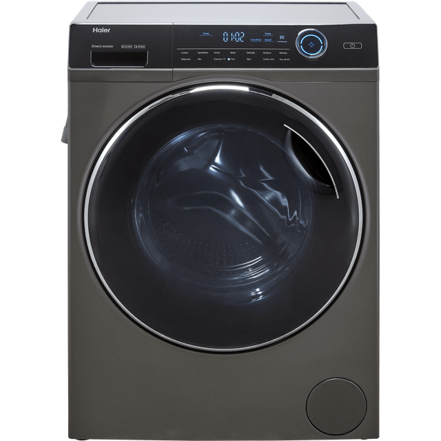 Haier HWD80-B14979S 8Kg / 5Kg Washer Dryer with 1400 rpm - Graphite - A Rated