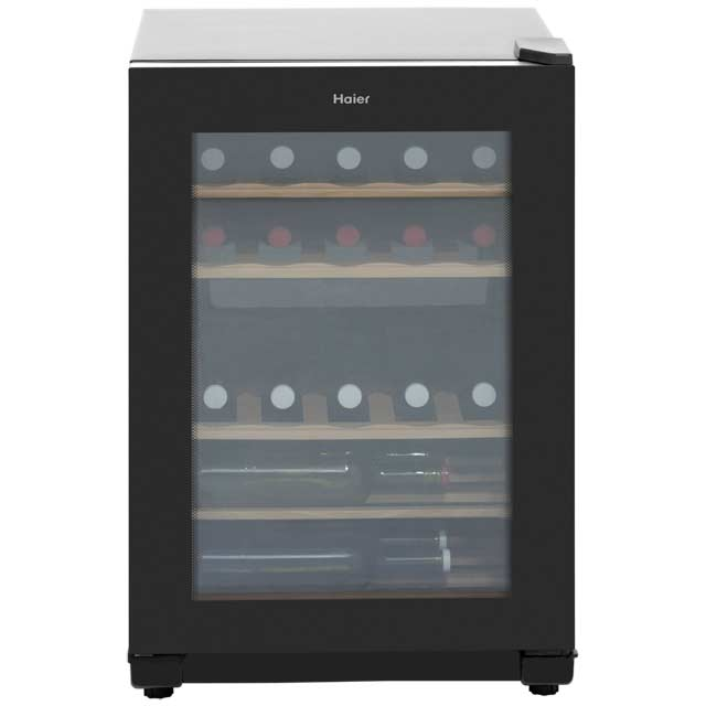 Haier WS25GA Wine Cooler - Black - A Rated - WS25GA_BK - 1