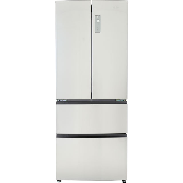Haier HB14FMAA American Fridge Freezer - Stainless Steel