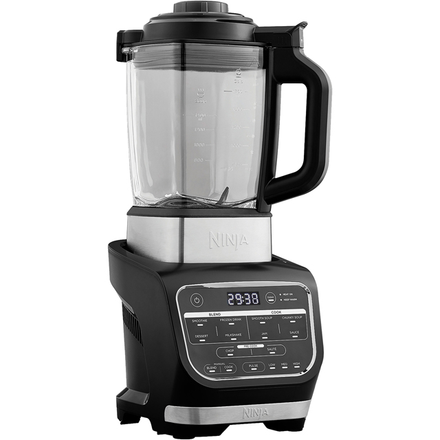 Ninja Soup Maker and Blender HB150UK with 2 Accessories - Black - HB150UK_BK - 1