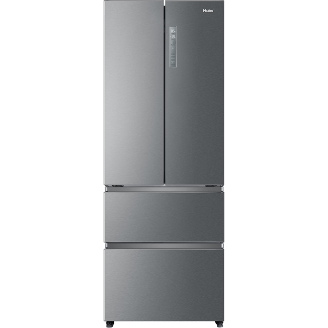 Haier HB15FPAA 60/40 Frost Free Fridge Freezer - Silver - A+ Rated - HB15FPAA_SI - 1