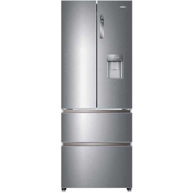 Haier HB16WMAA American Fridge Freezer - Stainless Steel Effect