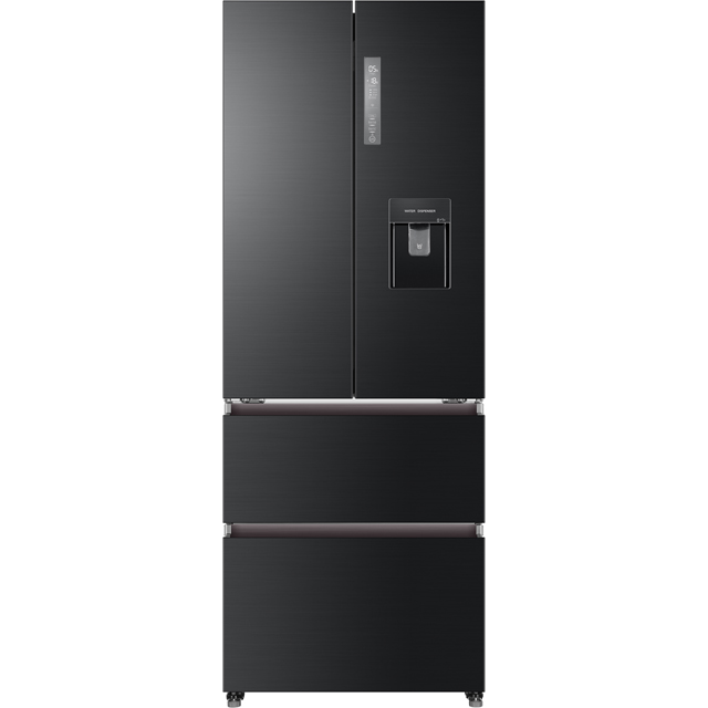 Haier HB16WSNAA American Fridge Freezer - Graphite - A+ Rated - HB16WSNAA_GH - 1
