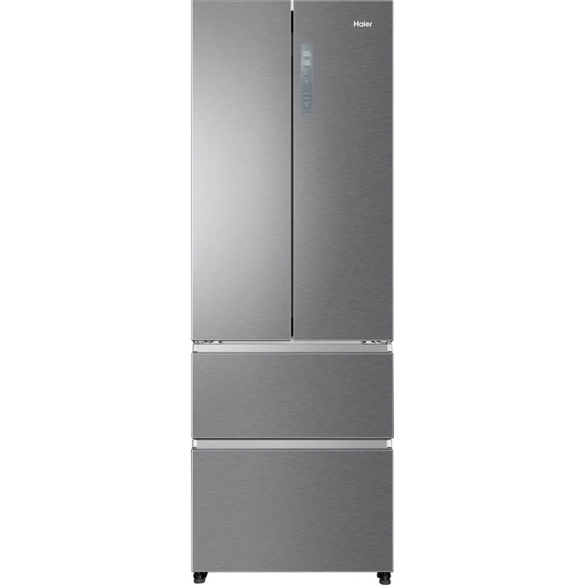 Haier HB20FPAAA American Fridge Freezer - Stainless Steel Effect - HB20FPAAA_SSE - 1