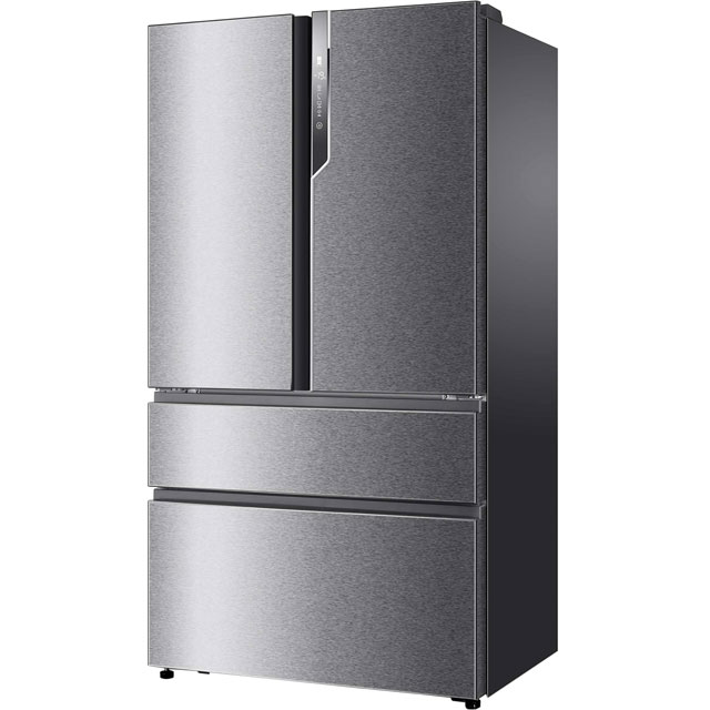 Haier HB25FSSAAA American Fridge Freezer - Stainless Steel - A++ Rated Best Price, Cheapest Prices
