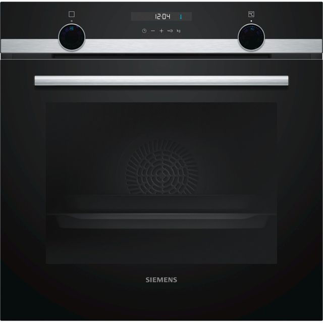 Siemens IQ-500 HB535A0S0B Built In Electric Single Oven - Stainless Steel - A Rated - HB535A0S0B_SS - 1