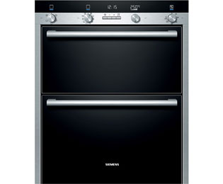 Product image for Siemens HB55NB550B Electric Double Oven Stainless Steel