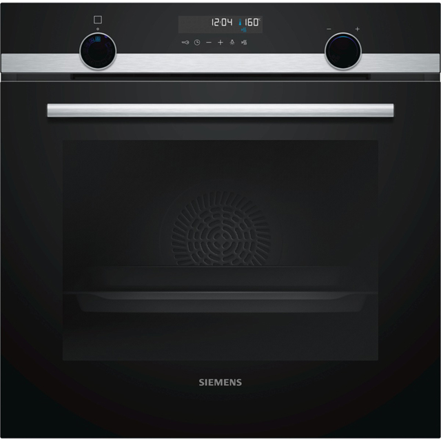 Siemens IQ-500 HB578A0S0B Built In Electric Single Oven - Stainless Steel - A Rated - HB578A0S0B_SS - 1