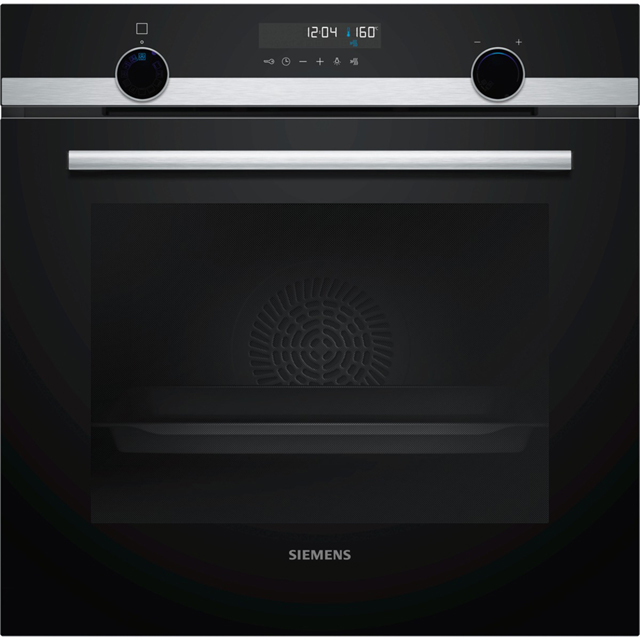 Siemens IQ-500 HB578G5S0B Built In Electric Single Oven - Stainless Steel - A Rated - HB578G5S0B_SS - 1