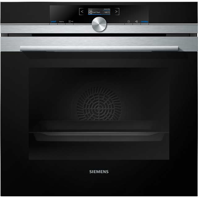 Siemens IQ-700 HB632GBS1B Built In Electric Single Oven - Stainless Steel - A+ Rated - HB632GBS1B_SS - 1