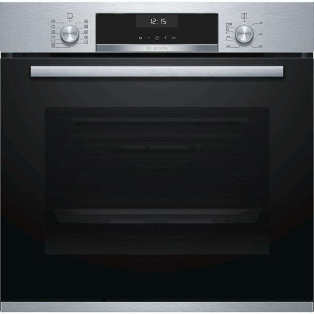Bosch Serie 6 HBA5570S0B Built In Electric Single Oven - Stainless Steel - HBA5570S0B_SS - 1