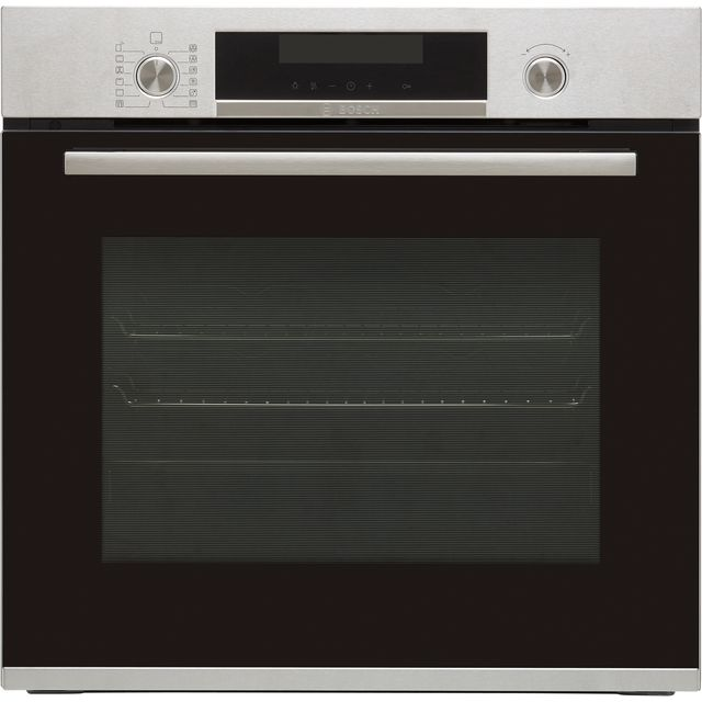 Bosch Serie 6 HBA5780S6B Built In Electric Single Oven - Stainless Steel - HBA5780S6B_SS - 1