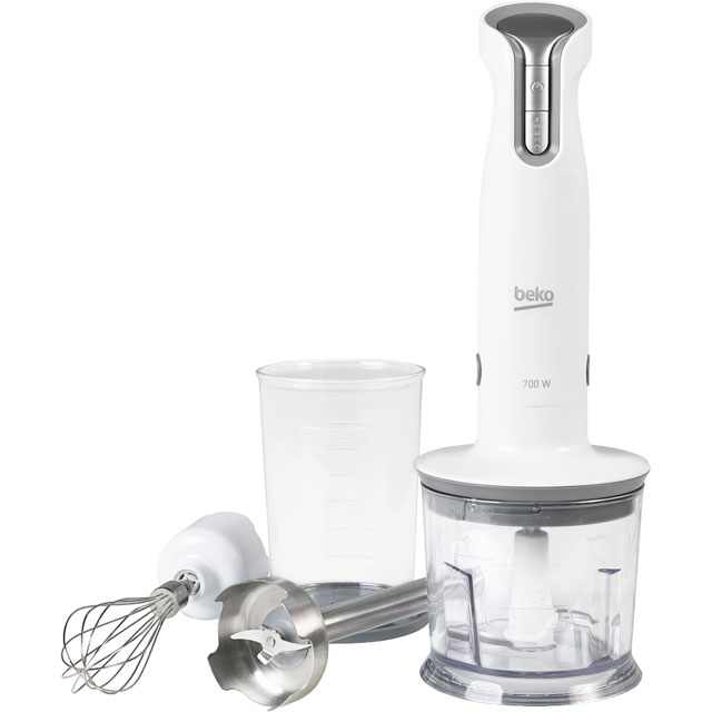 Beko HBA6700W Hand Blender with 2 Accessories - White - HBA6700W_WH - 1