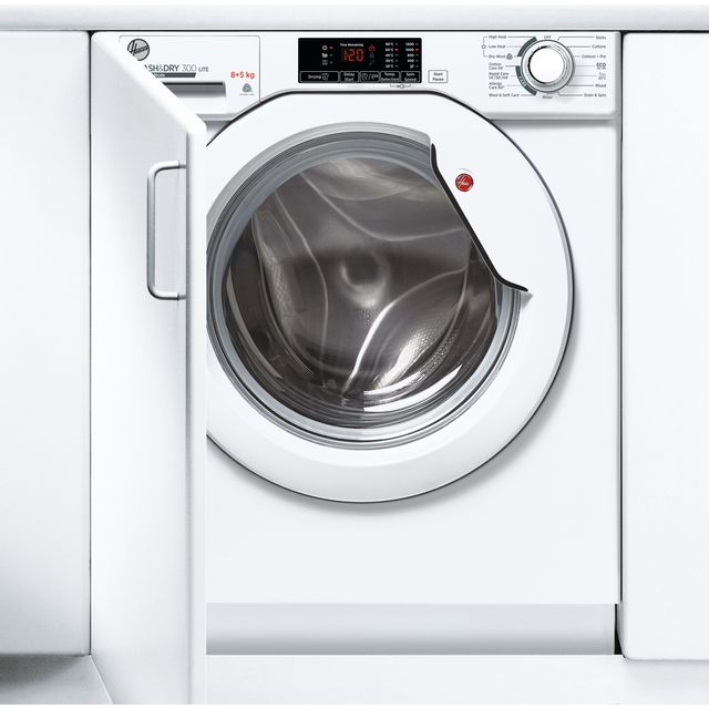 Hoover HBD485D1E/1 Built In Washer Dryer - White