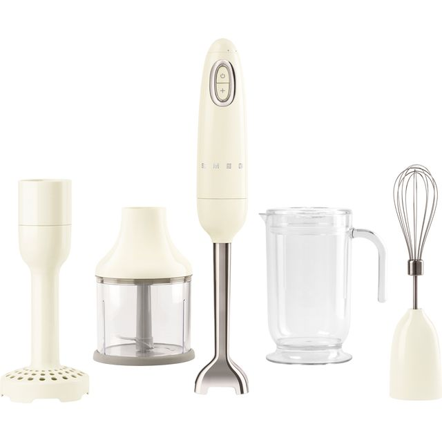 Smeg 50's Retro HBF02CRUK Hand Blender with 4 Accessories - Cream - HBF02CRUK_CR - 1