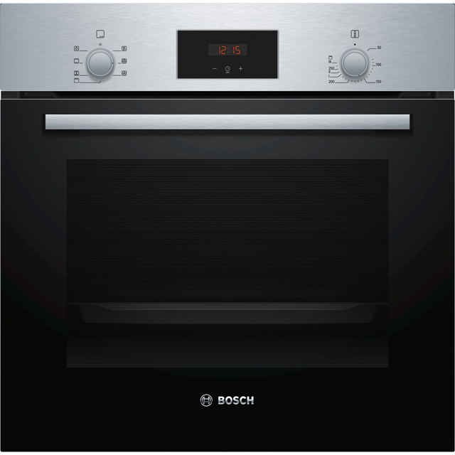 Bosch Serie 2 HBF113BR0B Built In Electric Single Oven - Stainless Steel - HBF113BR0B_SS - 1