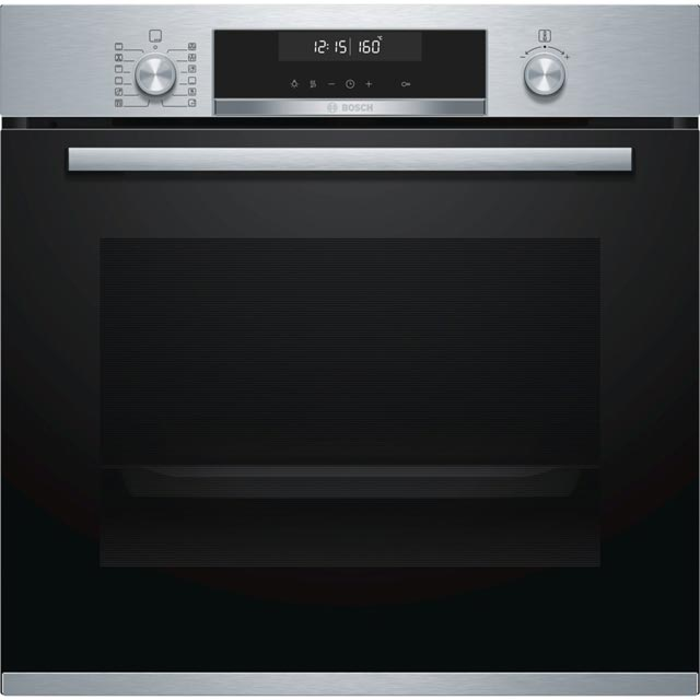 Bosch Serie 6 HBG5585S0B Built In Electric Single Oven - Stainless Steel - A Rated - HBG5585S0B_SS - 1