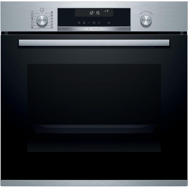 Bosch Serie 6 HBG5785S6B Built In Electric Single Oven - Stainless Steel - HBG5785S6B_SS - 1