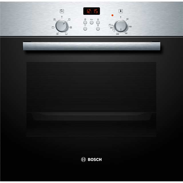Bosch HBN331E6B Built In Electric Single Oven - Stainless Steel - A Rated
