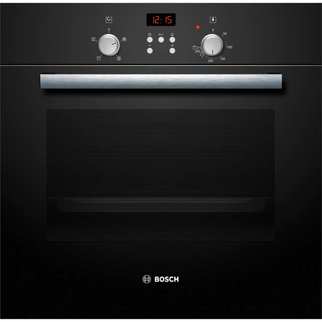 Bosch HBN331S4B Built In Electric Single Oven - Black - A Rated
