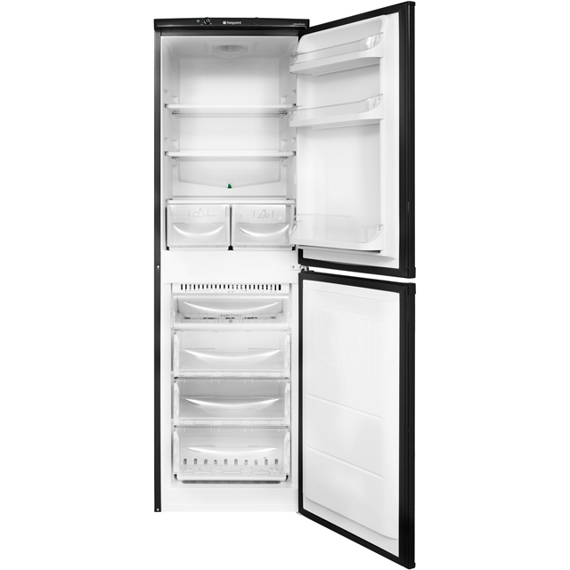 Hotpoint Aquarius HBNF5517B 50/50 Frost Free Fridge Freezer - Black - HBNF5517B_BK - 3