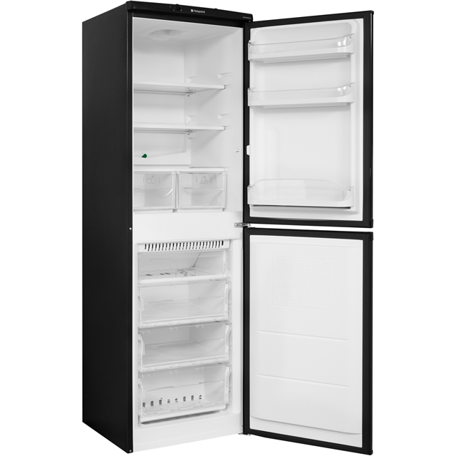 Hotpoint Aquarius HBNF5517B 50/50 Frost Free Fridge Freezer - Black - HBNF5517B_BK - 4