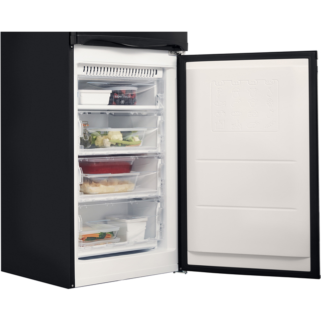 Hotpoint Aquarius HBNF5517B 50/50 Frost Free Fridge Freezer - Black - HBNF5517B_BK - 5