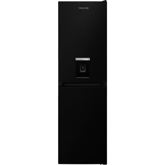 Hotpoint HBNF55181BAQUAUK 50/50 Frost Free Fridge Freezer - Black - A+ Rated