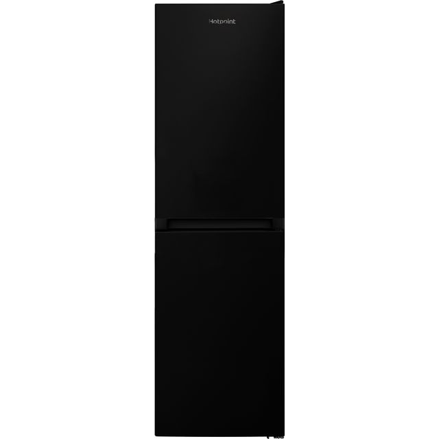 Hotpoint HBNF55181BUK 50/50 Frost Free Fridge Freezer - Black - A+ Rated - HBNF55181BUK_BK - 1